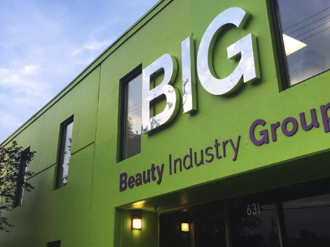 Beauty Industry Group warehouse