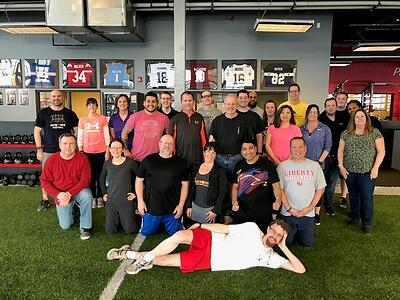 US West Dodgeball.Wiffleball Day 1