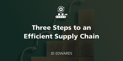 Three Steps to an Efficient Supply Chain featured Image