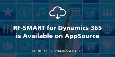 RF-SMART for Dynamics 365 is Available on AppSource featured Image