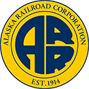 The Alaska Railroad Corporation logo